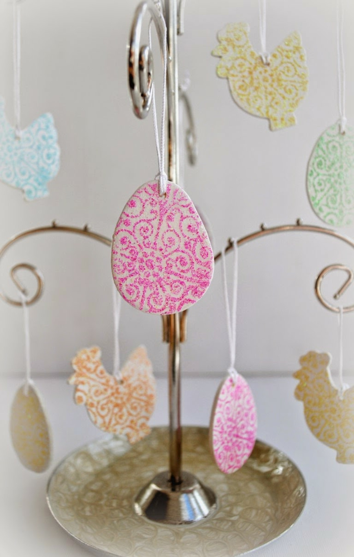 osterdeko ostern dekoideen figuren aufhängen