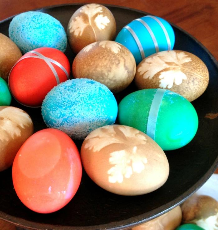Ostereier färben - 3 originelle und einfache Techniken