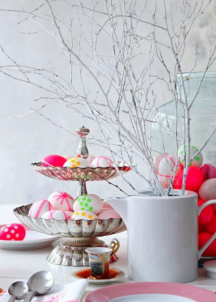 ostereier gestalten basteln mit kindern eier bemalen