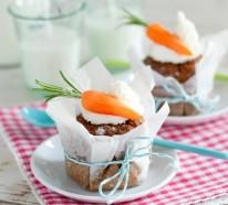 60 Osterkuchen mit Stimmung – Mini Kuchen schmücken den festlichen Tisch