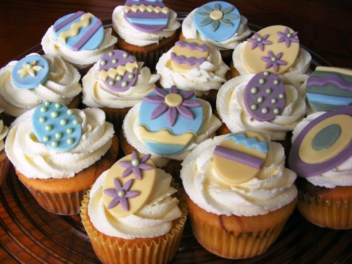 osterkuchen mini kuchen ostern muffins