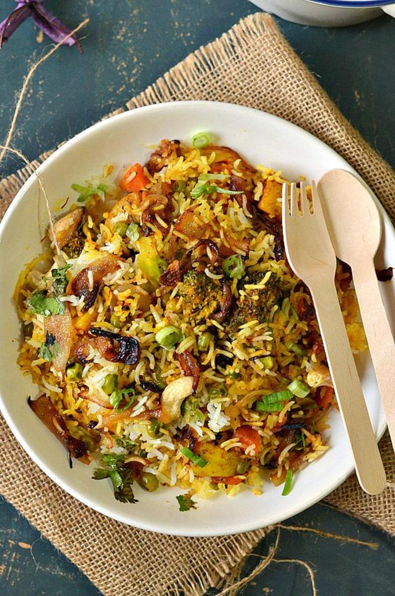 pakistanische Küche typische Gerichte Biryani