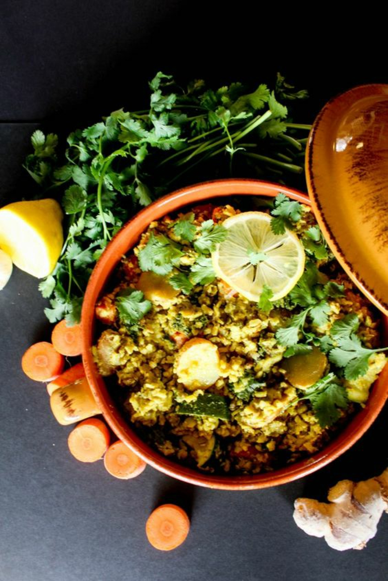 pakistanische Küche typische Gerichte Kitchari