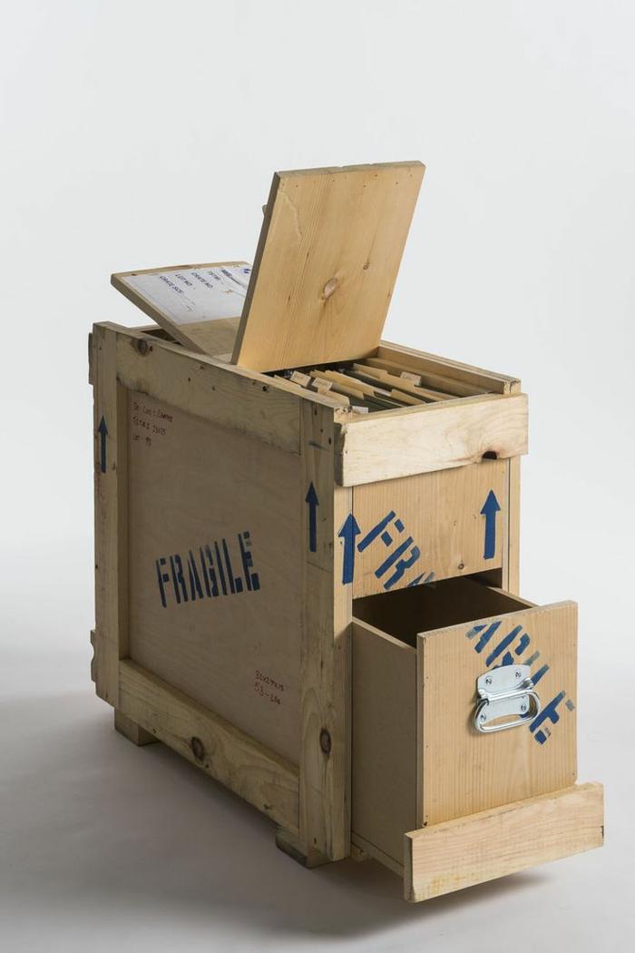 recycling möbel materialien wiederverwenden schubladen