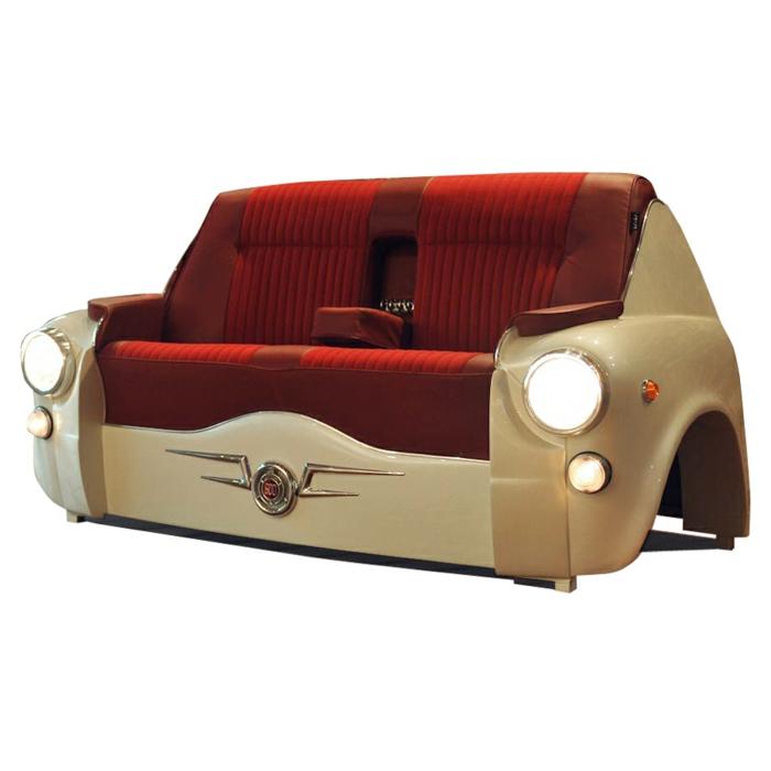 recycling möbel sofa carmöbel wohnideen