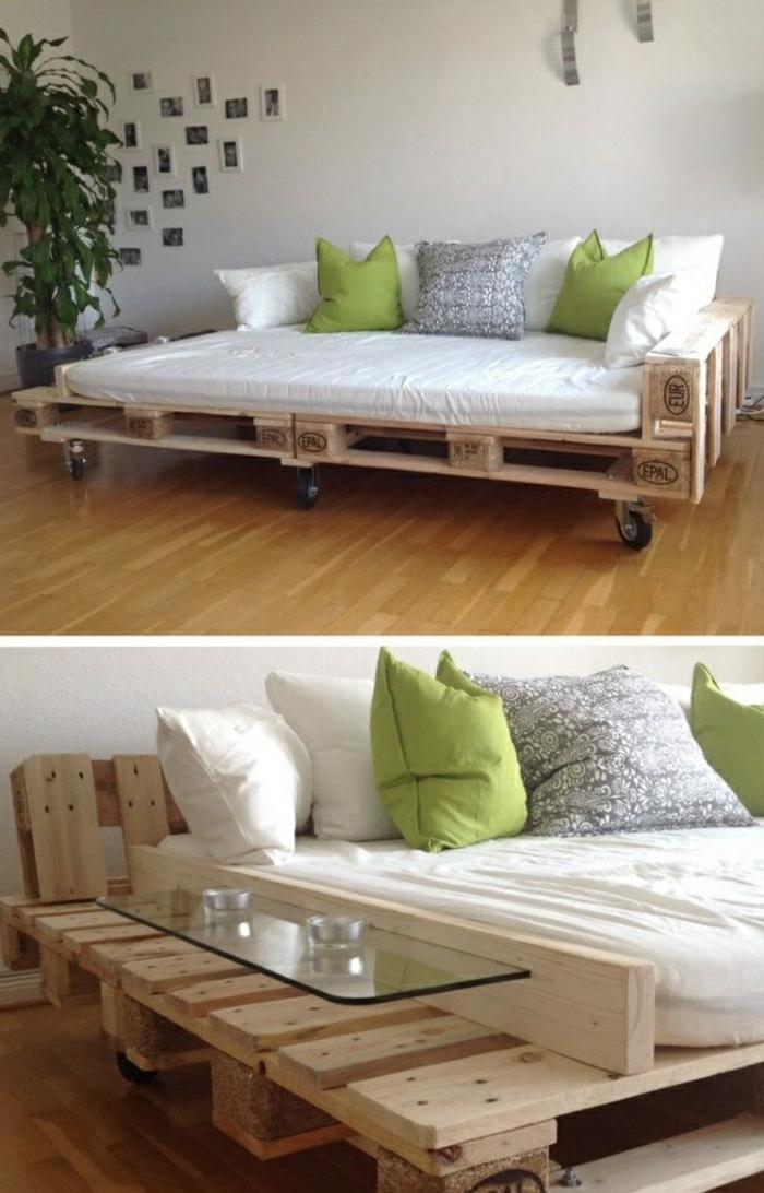 recycling möbel sofa paletten beistelltisch praktisch