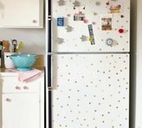 Wie Sie Ihren Retro Kühlschrank selber gestalten können