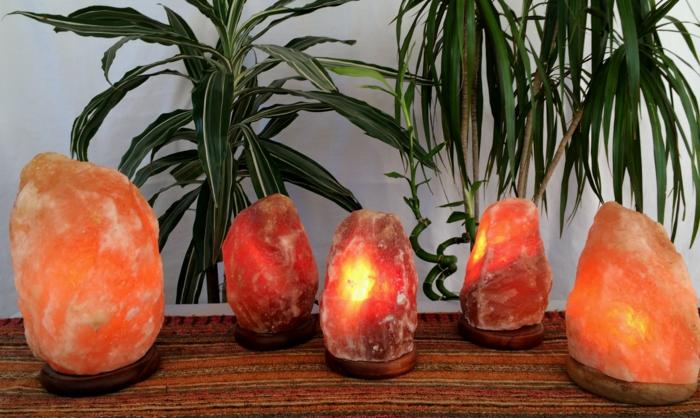 salzkristalllampe himalaya salz fernosten zen feng shui interior schaffen