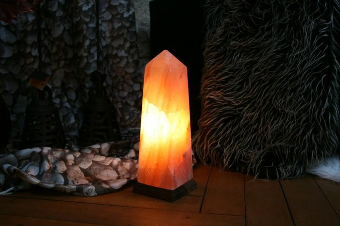 Die Salzkristalllampe und ihre gesunde Wirkung und Ästhetik