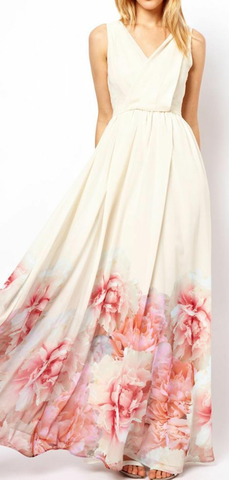 schöne Sommerkleider Blumenkleider Mango Sommermode