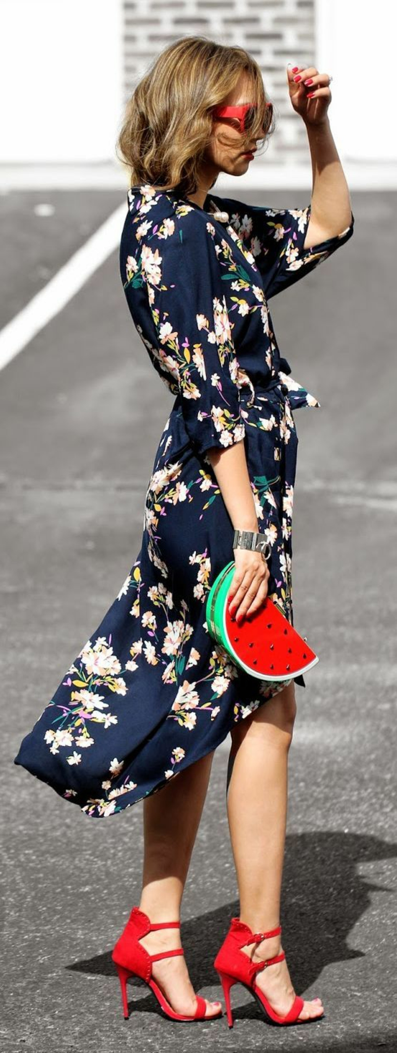 schöne Sommerkleider Damen Blumenkleider Sommermode Trends