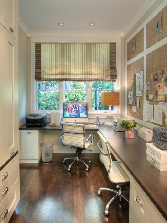 schöne wohnideen eckmöbel bürostühle stauraum ideen