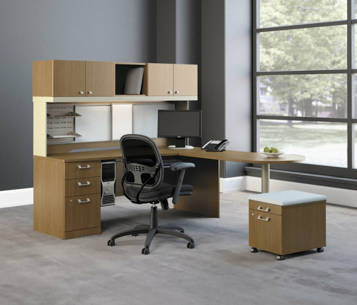 schöne wohnideen home office ideen moderne möbelstücke