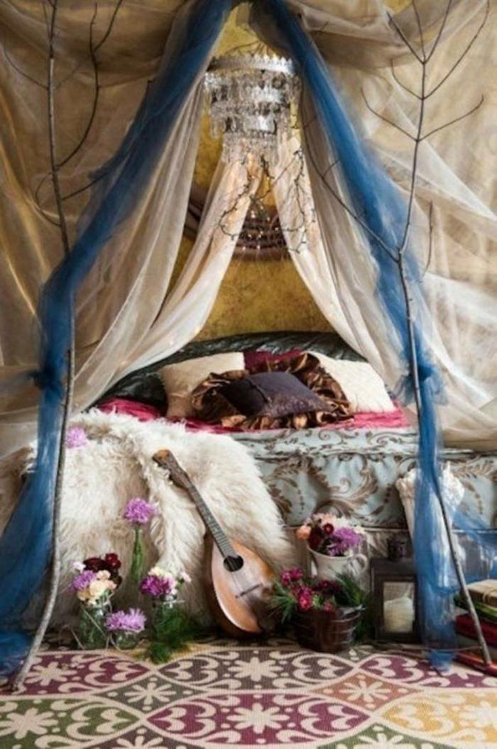 schlafzimmer einrichten einrichtungsbeispiele wohnideen baldachin
