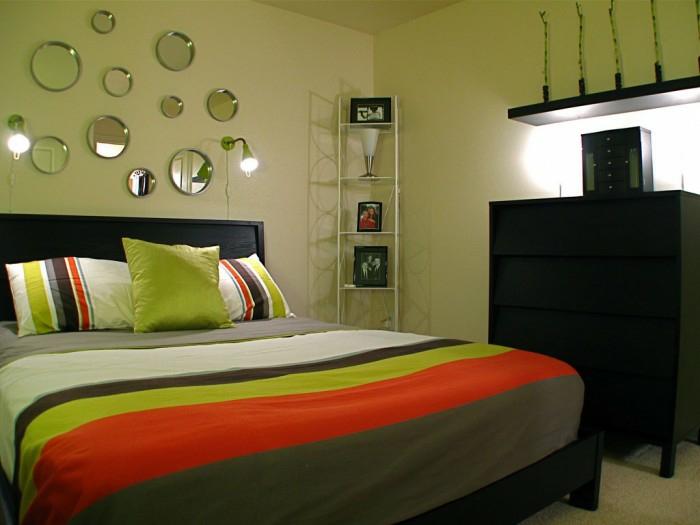 einrichtungsbeispiele wohnideen romantisches schlafzimmer über dem kopf