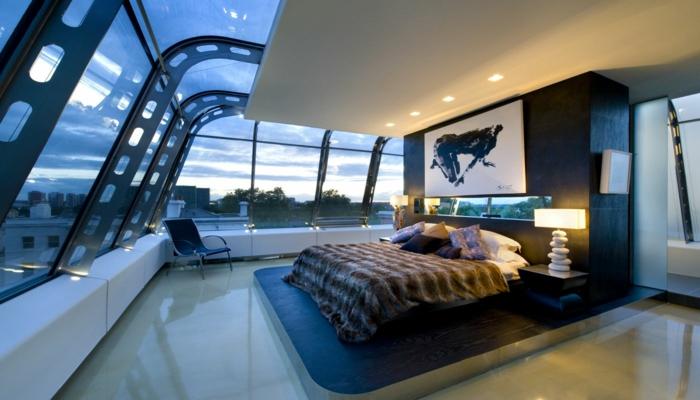 einrichtungsbeispiele wohnideen romantisches schlafzimmer träumen