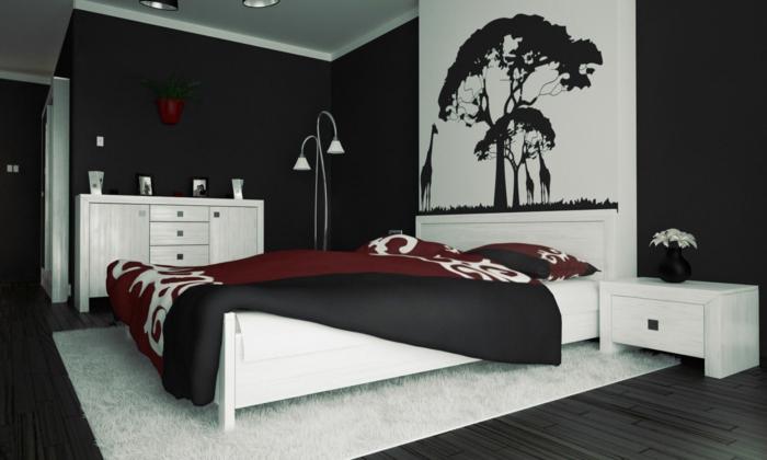 schlafzimmer beispiele farbgestaltung. Black Bedroom Furniture Sets. Home Design Ideas