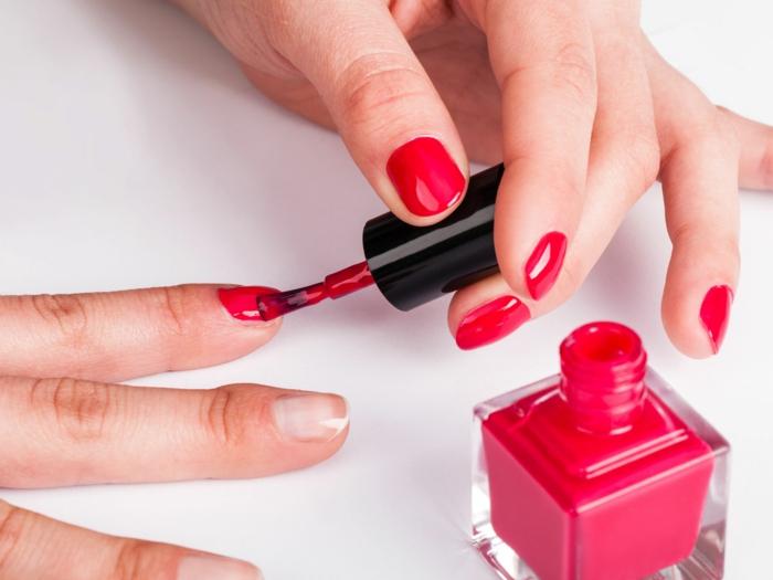 schminktipps nagellack eintragen ideen lifestyle