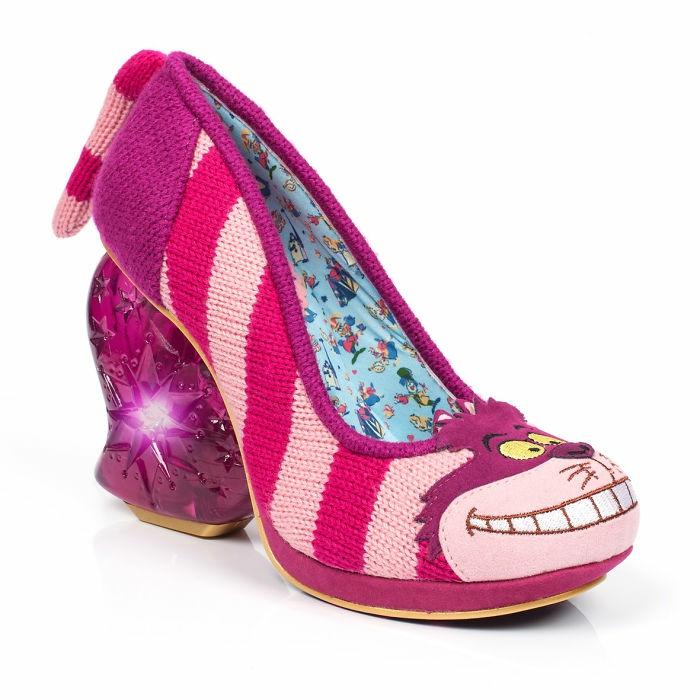 schuhtrends dan sullivan alice in wonderland footwear collection absatz rosanuancen