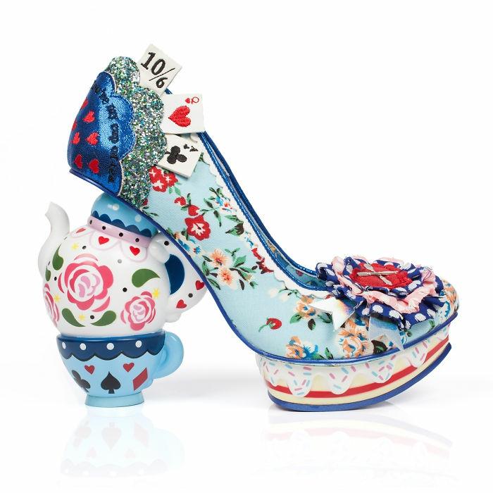 schuhtrends dan sullivan alice in wonderland footwear collection ausgefallene absätze