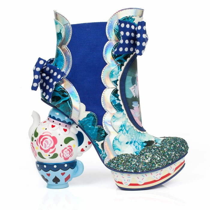 schuhtrends dan sullivan alice in wonderland footwear collection farbig lustig