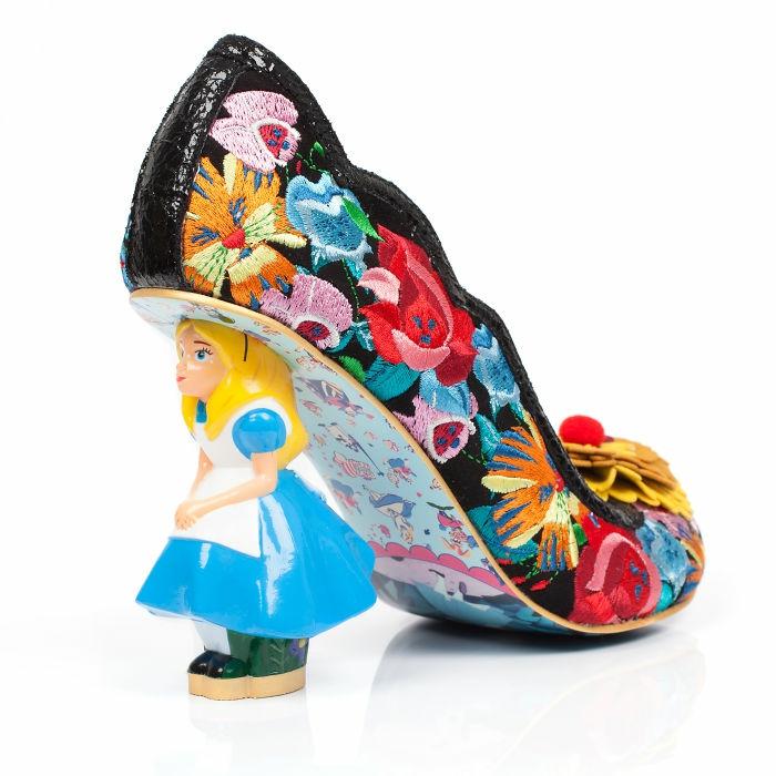 schuhtrends dan sullivan alice in wonderland footwear collection seltsam attraktiv