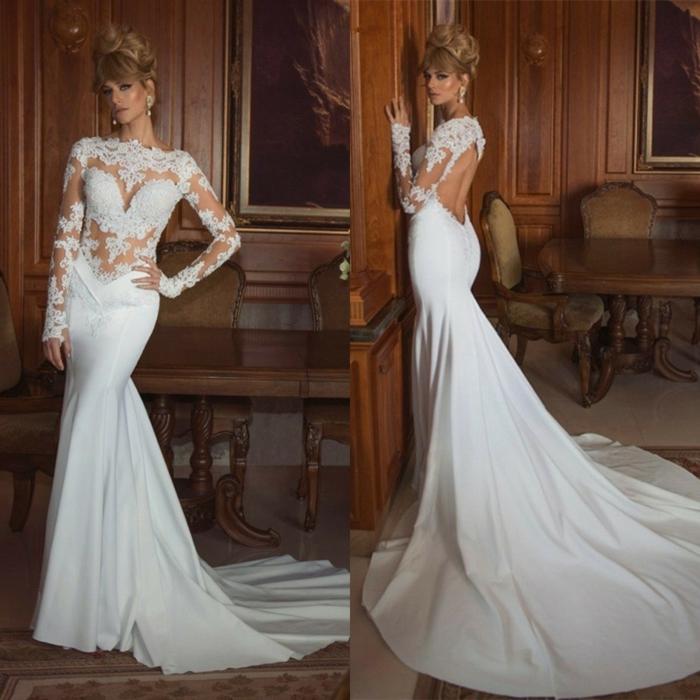 33 Sexy Brautkleider Ideen für künftige Bräute mit Schwung