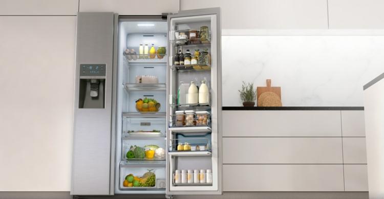 Amerikanischer Kühlschrank Wassertank : Amerikanischer kühlschrank a side by side kühlschrank alles in