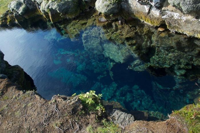 silfra spalte island naturlandschaft reiseziel