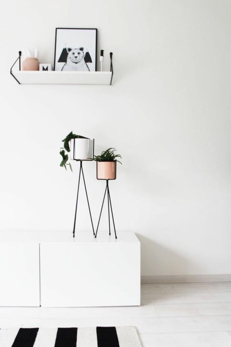 Skandinavische Deko Einrichtungsbeispiele Zimmerpflanzen Skandinavisches  Design: 120 Stilvolle Ideen In Bildern | Designer Möbel ...
