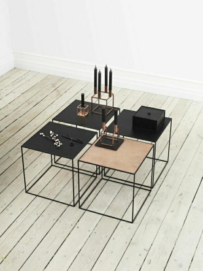 skandinavische Möbel Design Einrichtungsbeispiele Couchtisch
