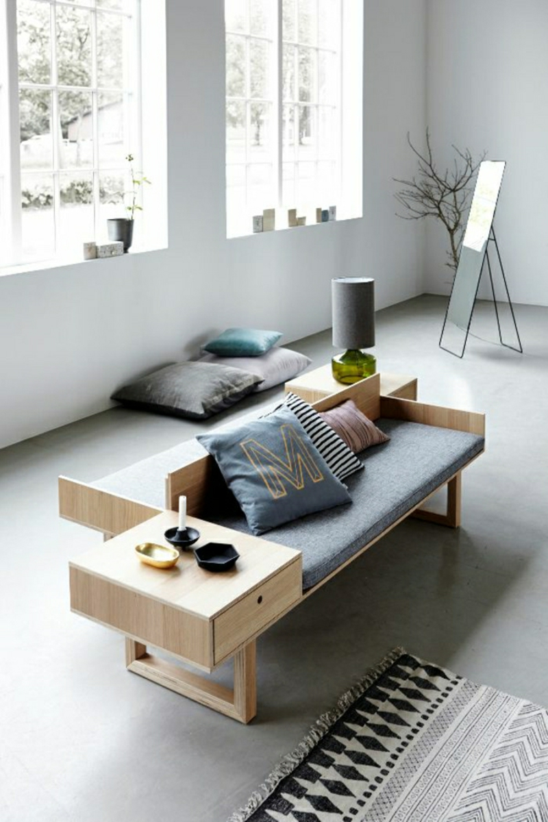 skandinavisches design 120 stilvolle ideen in bildern. Black Bedroom Furniture Sets. Home Design Ideas