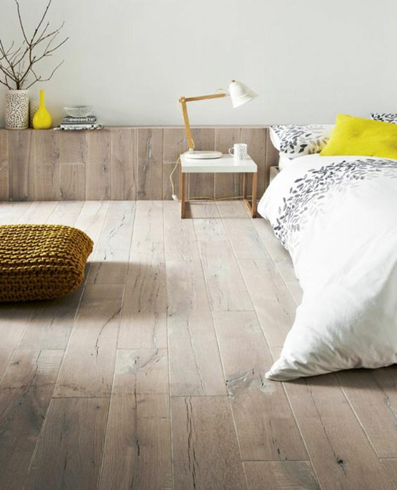 skandinavisches Design Einrichtungsbeispiele Schlafzimmer Möbel Holz
