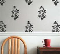 52 Tapeten Ideen mit floralem Tapetenmuster stimmen Sie fröhlich