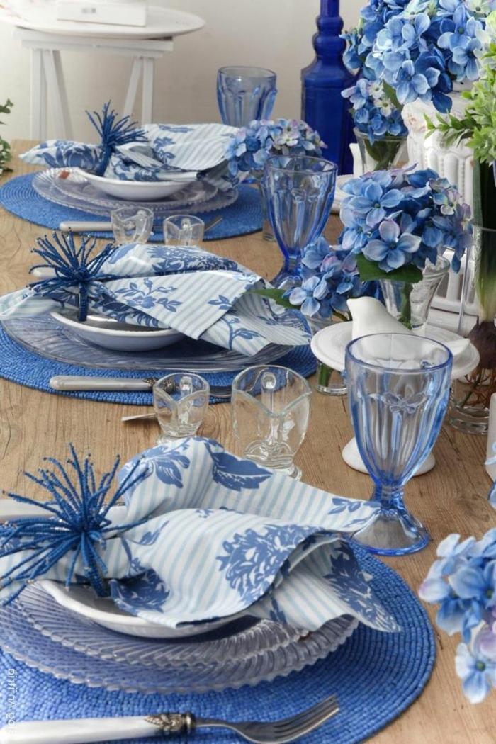 Tischdeko Blau Fur Hochzeiten Jubilaen Und Andere