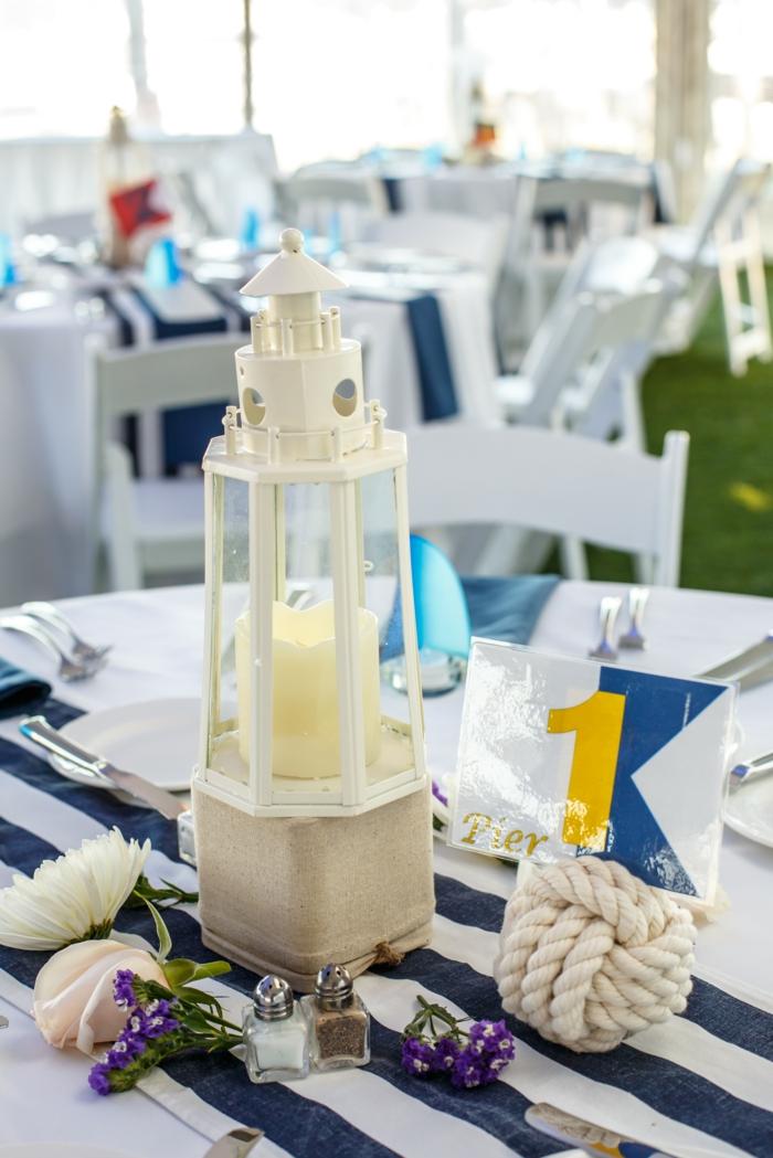 Tischdeko Blau F 252 R Hochzeiten Jubil 228 En Und Andere