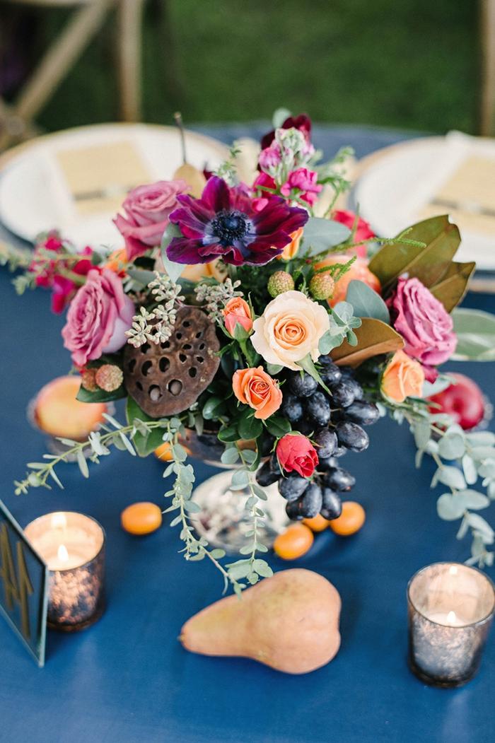 Tischdeko Blau Fur Hochzeiten Jubilaen Und Andere Festliche Anlasse