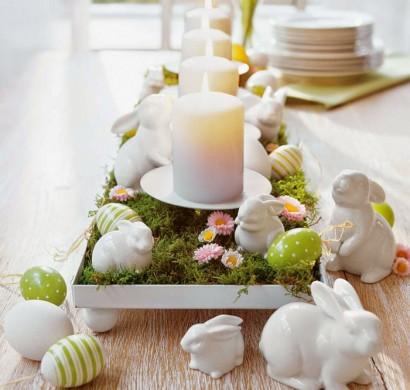 Festliche Tischdeko Zu Ostern U2013 Typische Ostersymbole Auf Den Tisch Bringen