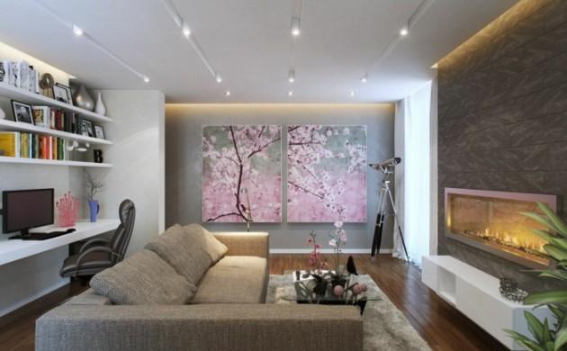 design : dekoideen wohnzimmer grün ~ inspirierende bilder von ...