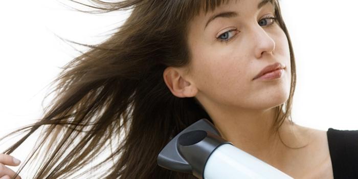 fettige haare was tun tipps haartrockner richtig benutzen