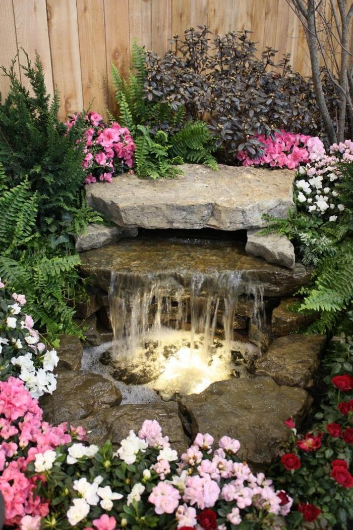 Wasserfall Im Garten Selber Bauen Und Die Harmonie Der