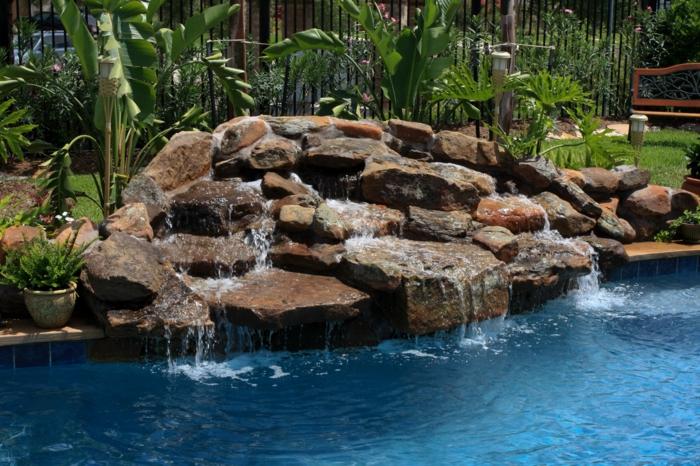 Wasserfall Im Garten Selber Bauen - 99 Ideen, Wie Sie Die Harmonie