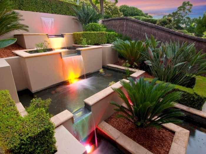 Awesome Wasserfall Garten Modern Ideas - New Home Design 2018 ...
