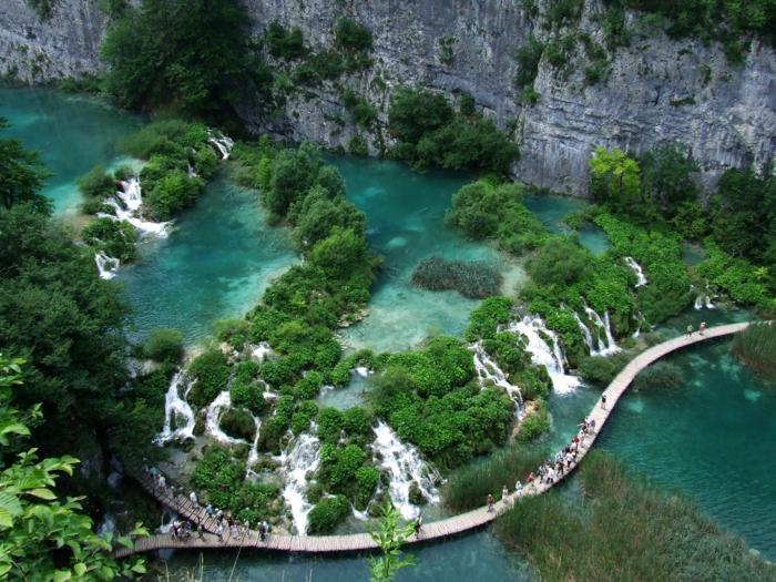 weltreise europa reisen kroatien plitvicer seen