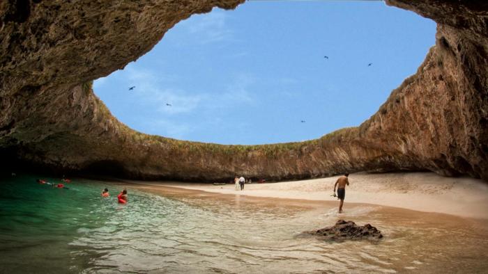 weltreise reiseziel mexiko hidden beach