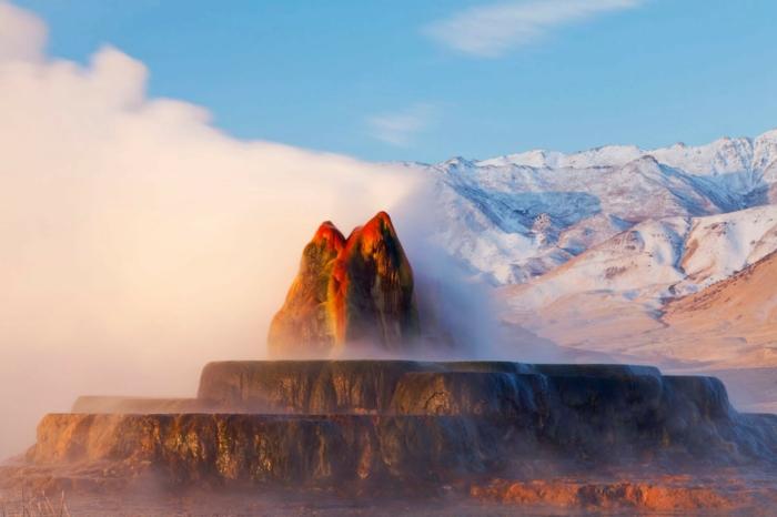 weltreisen amerika usa nevada fly geyser