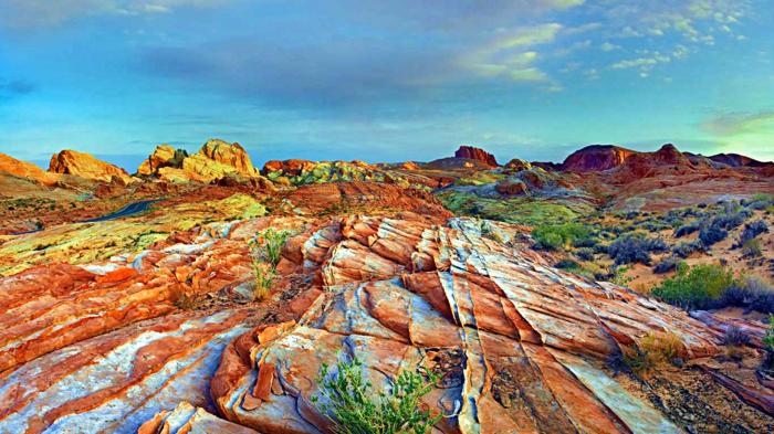 weltreisen regenbogen wüste china zhangye danxia