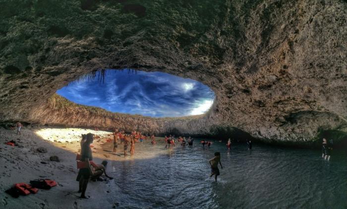 weltreisen reiseziel mexiko puerto vallarta hidden beach