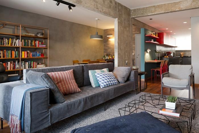 55 wohnraumgestaltung ideen mit stil und schwung - Wohnraumgestaltung Grau