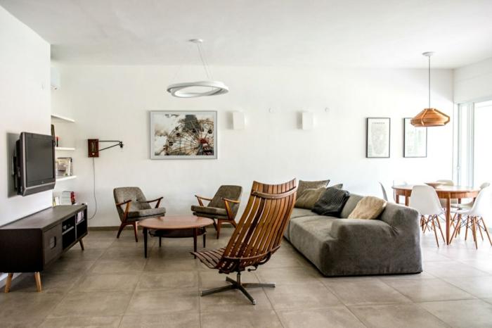 wohnraumgestaltung skandinavisches design wohnzimmer designer möbel
